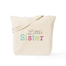 Little Sis Polka Dot Tote Bag