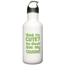 Think I'm Cute? CousinS (Plur Water Bottle