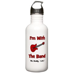 I'm With The Band. Stainless Water Bottle 1.0L