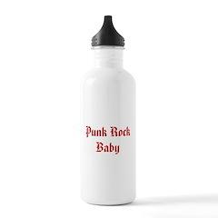 Punk Rock Baby Water Bottle