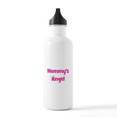 Mommy's Angel - Pink Water Bottle