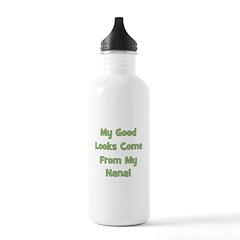 Good Looks From Nana - Green Stainless Water Bottl
