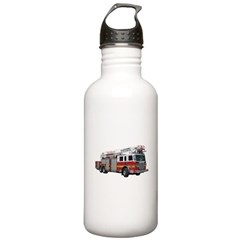 Firetruck Design Water Bottle