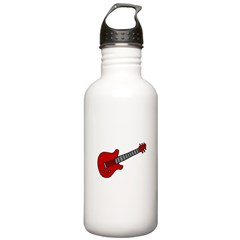Guitar (Musical Instrument) D Water Bottle