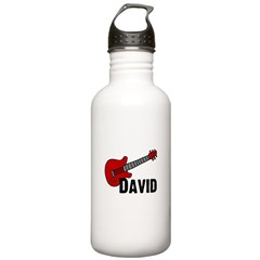 Guitar - David Water Bottle