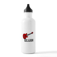 Guitar - Elijah Water Bottle