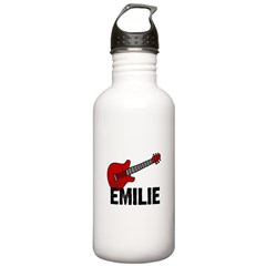 Guitar - Emilie Stainless Water Bottle 1.0L