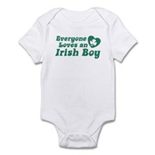 Everyone loves an Irish Boy Infant Creeper