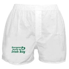 Everyone loves an Irish Boy Boxer Shorts