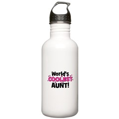 World's Coolest Aunt! Stainless Water Bottle 1.0L
