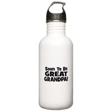 Soon To Be Great Grandpa! Water Bottle
