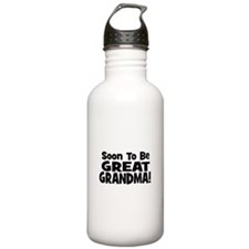 Soon To Be Great Grandma! Water Bottle