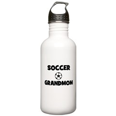 Soccer Grandmom Water Bottle