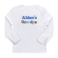 Aidan's Grandpa Long Sleeve Infant T-Shirt