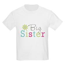 Big Sister Flower T-Shirt
