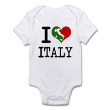 Italian I Love Italy  Infant Creeper