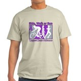 Pancreatic Cancer RideWalkRun T-Shirt