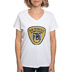 FBI EOD San Francisco Women's V-Neck T-Shirt