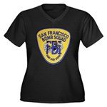 FBI EOD San Francisco Women's Plus Size V-Neck Dar