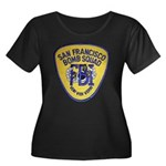 FBI EOD San Francisco Women's Plus Size Scoop Neck