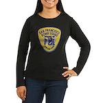 FBI EOD San Francisco Women's Long Sleeve Dark T-S