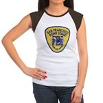 FBI EOD San Francisco Women's Cap Sleeve T-Shirt
