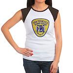 FBI EOD San Francisco Women's Cap Sleeve T-Shirt