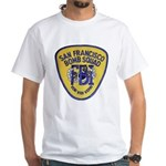 FBI EOD San Francisco White T-Shirt