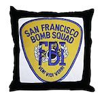 FBI EOD San Francisco Throw Pillow