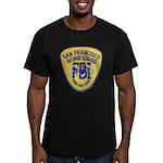 FBI EOD San Francisco Men's Fitted T-Shirt (dark)