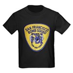 FBI EOD San Francisco Kids Dark T-Shirt