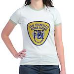 FBI EOD San Francisco Jr. Ringer T-Shirt