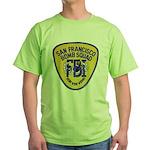 FBI EOD San Francisco Green T-Shirt
