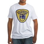 FBI EOD San Francisco Fitted T-Shirt