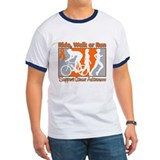 Leukemia RideWalkRun T