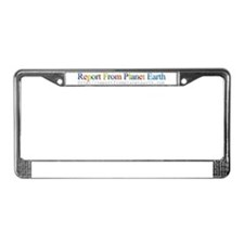 Cute Damian License Plate Frame