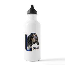 Bluetick Coonhound Love Water Bottle