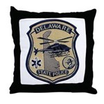 Delaware State Police Aviatio Throw Pillow