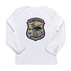 Delaware State Police Aviatio Long Sleeve Infant T