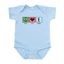 Peace Love Hiking Infant Bodysuit