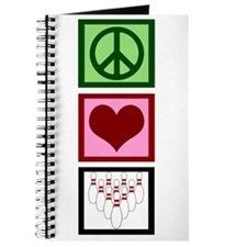 Peace Love Bowling Journal