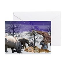 Beasts Greeting Cards (pk Of 10)