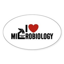 I Love Microbiology Decal
