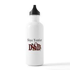 Skye Terrier Dad Sports Water Bottle