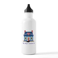 Skye Terrier Home Is Sports Water Bottle