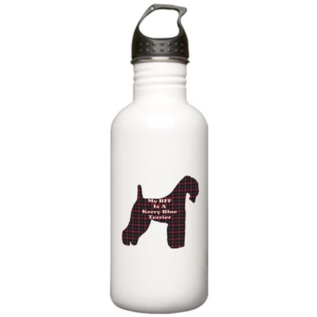 BFF Kerry Blue Terrier Stainless Water Bottle 1.0L