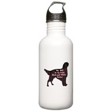 Irish Red and White Setter Water Bottle