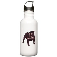 BFF English Bulldog Water Bottle