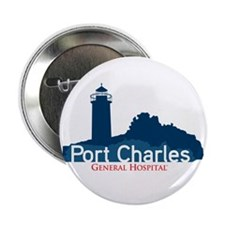 "Port Charles 2.25"" Button"