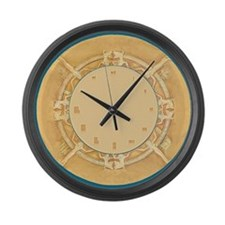 Large exotic Egyptian Wall Clock